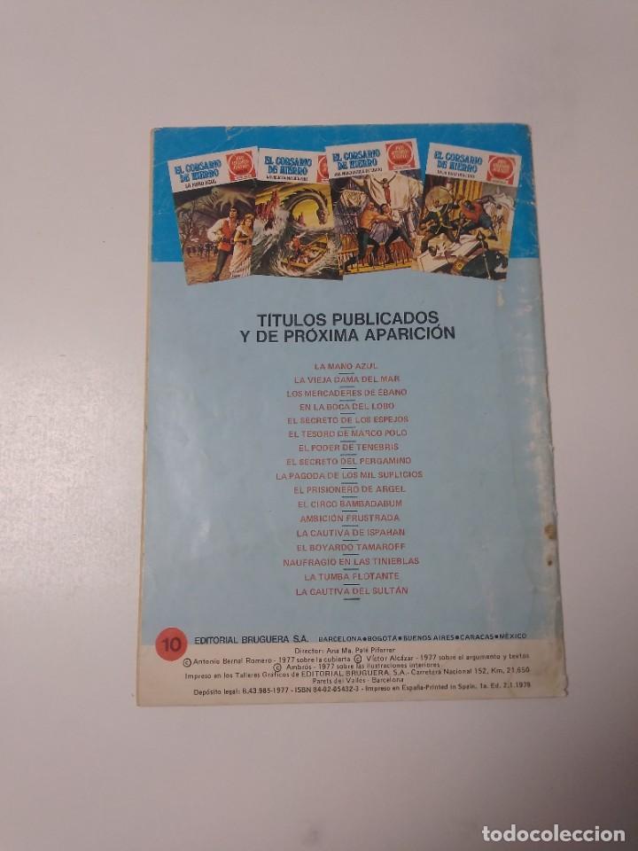 Tebeos: El Corsario de Hierro número 10 Joyas Literarias Juveniles 1 Edición 1978 Editorial Bruguera - Foto 2 - 221503500