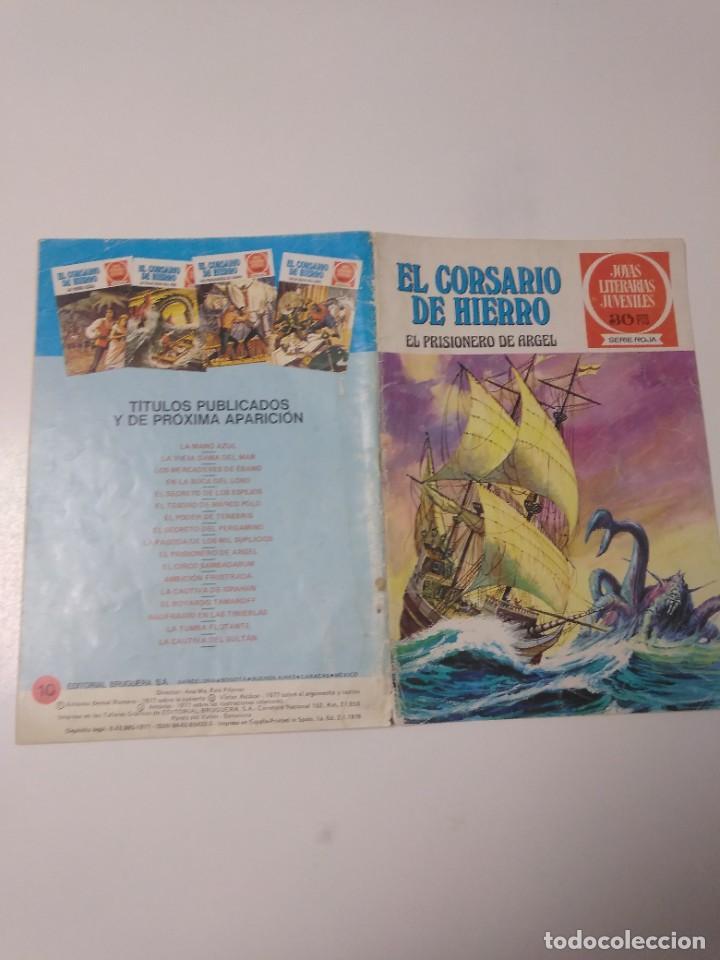 Tebeos: El Corsario de Hierro número 10 Joyas Literarias Juveniles 1 Edición 1978 Editorial Bruguera - Foto 3 - 221503500