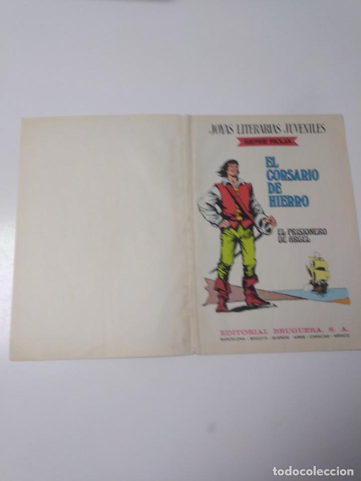 Tebeos: El Corsario de Hierro número 10 Joyas Literarias Juveniles 1 Edición 1978 Editorial Bruguera - Foto 4 - 221503500