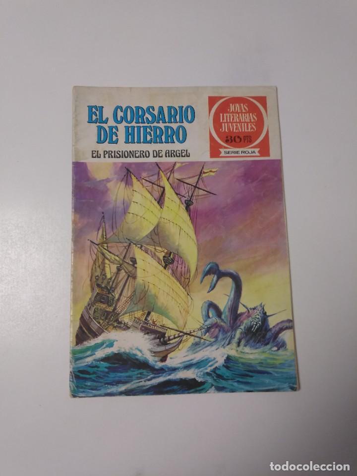 EL CORSARIO DE HIERRO NÚMERO 10 JOYAS LITERARIAS JUVENILES 1 EDICIÓN 1978 EDITORIAL BRUGUERA (Tebeos y Comics - Bruguera - Corsario de Hierro)