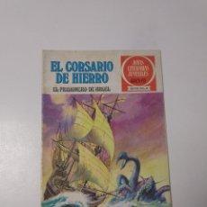 Livros de Banda Desenhada: EL CORSARIO DE HIERRO NÚMERO 10 JOYAS LITERARIAS JUVENILES 1 EDICIÓN 1978 EDITORIAL BRUGUERA. Lote 221503833