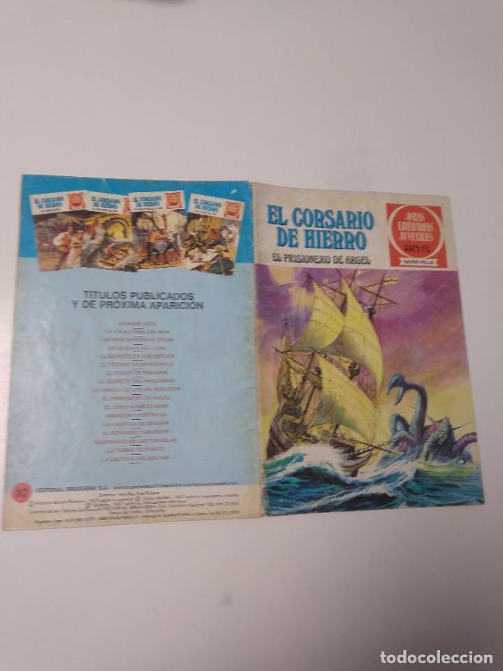 Tebeos: El Corsario de Hierro número 10 Joyas Literarias Juveniles 1 Edición 1978 Editorial Bruguera - Foto 3 - 221503833