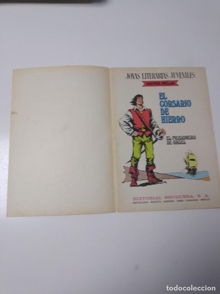 Tebeos: El Corsario de Hierro número 10 Joyas Literarias Juveniles 1 Edición 1978 Editorial Bruguera - Foto 4 - 221503833