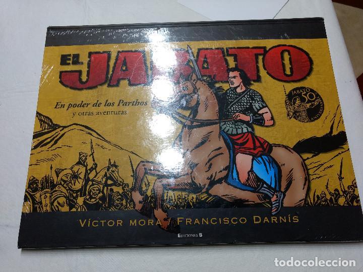 TOMO EL JABATO: EN PODER DE LOS PARTHOS JABATO 50 ANIVERSARIO NUEVO PRECINTADO (Tebeos y Comics - Bruguera - Jabato)