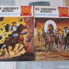Tebeos: SHERIFF KING- LOTE DE 3 TEBEOS + 1 DE REGALO. Lote 221512528
