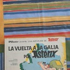 Tebeos: ASTERIX LA VUELTA A LA GALIA - ASTERIX - PILOTE - BRUGUERA - 1ª EDICIÓN (1969) CONTRAPORTADA ANTIGUA. Lote 221522625
