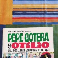 Tebeos: ASES DEL HUMOR 18 UN DOS TRES ¡CHAPUZA OTRA VEZ! -PEPE GOTERA Y OTILIO - BRUGUERA- 1ª EDICIÓN (1972). Lote 221522666
