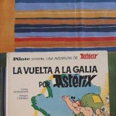 Tebeos: ASTERIX LA VUELTA A LA GALIA - ASTERIX - PILOTE - BRUGUERA - 1ª EDICIÓN (1969). Lote 221522698