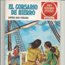 Tebeos: EL CORSARIO DE HIERRO JOYAS LITERARIAS JUVENILES SERIE ROJA Nº 30 EDITORIAL BRUGUERA. Lote 221529513