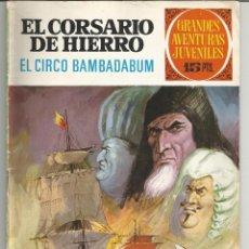 Tebeos: EL CORSARIO DE HIERRO GRANDES AVENTURAS JUVENILES Nº 25 EDITORIAL BRUGUERA. Lote 221529841