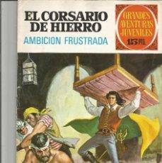 Tebeos: EL CORSARIO DE HIERRO GRANDES AVENTURAS JUVENILES Nº 29 EDITORIAL BRUGUERA. Lote 221529855