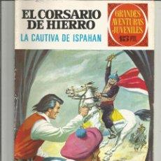 Tebeos: EL CORSARIO DE HIERRO GRANDES AVENTURAS JUVENILES Nº 33 EDITORIAL BRUGUERA. Lote 221529876