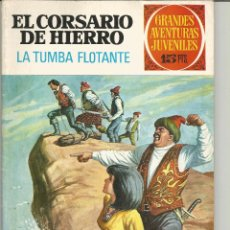 Tebeos: EL CORSARIO DE HIERRO GRANDES AVENTURAS JUVENILES Nº 49 EDITORIAL BRUGUERA. Lote 221529907