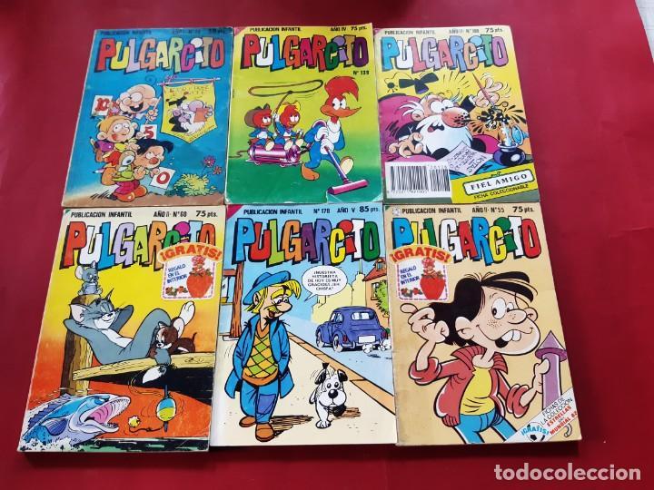 PULGARCITO NÚMEROS : 19-55-60-64-108-109-121-139-144-178 (Tebeos y Comics - Bruguera - Pulgarcito)