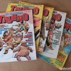 Tebeos: EL CAPITÁN TRUENO 5 8 11 12 13 - BRUGUERA 1986 - MUY BUEN ESTADO - TAMBIÉN SUELTOS. Lote 219493671
