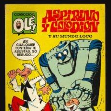 Tebeos: COLECCIÓN OLÉ - BRUGUERA / NÚMERO 51 (ASPIRINO Y COLODIÓN) 1ª EDICIÓN. Lote 221561967