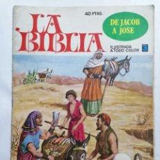 Tebeos: LA BIBLIA - DE JACOB A JOSE , Nº 3, EDICIONES BRUGUERA, 1978. Lote 221562158