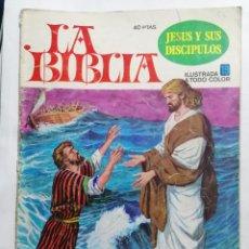 Tebeos: LA BIBLIA - JESUS Y SUS DISCIPULOS, Nº 19, EDICIONES BRUGUERA, 1978. Lote 221562281