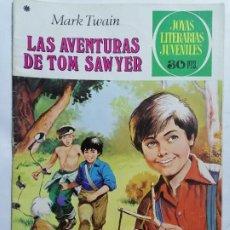 Tebeos: JOYAS LITERARIAS JUVENILES, LAS AVENTURAS DE TOM SAWYER, Nº 182, EDICIONES BRUGUERA, 1978. Lote 221562376