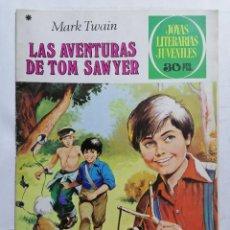 Tebeos: JOYAS LITERARIAS JUVENILES, LAS AVENTURAS DE TOM SAWYER, Nº 182, EDICIONES BRUGUERA, 1978. Lote 221562487