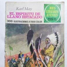 Tebeos: JOYAS LITERARIAS JUVENILES, EL ESPIRITU DE LLANO ESTANCADO, Nº 172, EDICIONES BRUGUERA, 1977. Lote 221562561