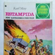 Tebeos: JOYAS LITERARIAS JUVENILES, ESTAMPIDA, Nº 144, EDICIONES BRUGUERA, 1978. Lote 221562693