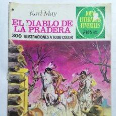 Tebeos: JOYAS LITERARIAS JUVENILES, EL DIABLO DE LA PRADERA, Nº 139, EDICIONES BRUGUERA, 1975. Lote 221562753
