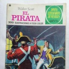 Tebeos: JOYAS LITERARIAS JUVENILES, EL PIRATA, Nº 6, EDICIONES BRUGUERA, 1970. Lote 221563138