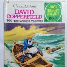 Tebeos: JOYAS LITERARIAS JUVENILES, DAVID COPPERFIELD, Nº 8, EDICIONES BRUGUERA, 1970. Lote 221563445