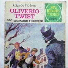 Tebeos: JOYAS LITERARIAS JUVENILES, OLIVERIO TWIST, Nº 70, EDICIONES BRUGUERA, 1976. Lote 221563640
