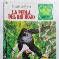 Tebeos: JOYAS LITERARIAS JUVENILES, LA PERLA DEL RIO ROJO, Nº 191, EDICIONES BRUGUERA, 1978. Lote 221563696