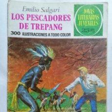 Tebeos: JOYAS LITERARIAS JUVENILES, LOS PESCADORES DE TREPANG, Nº 85, EDICIONES BRUGUERA, 1977. Lote 221564075