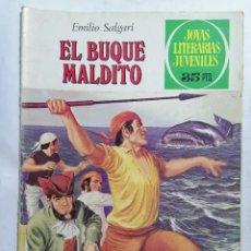Tebeos: JOYAS LITERARIAS JUVENILES, EL BUQUE MALDITO, Nº 226, EDICIONES BRUGUERA, 1979. Lote 221564125