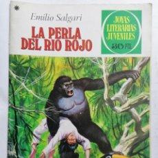 Tebeos: JOYAS LITERARIAS JUVENILES, LA PERLA DEL RIO ROJO, Nº 191, EDICIONES BRUGUERA, 1978. Lote 221564230