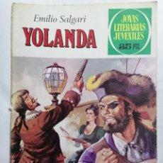 Tebeos: JOYAS LITERARIAS JUVENILES, YOLANDA, Nº 205, EDICIONES BRUGUERA, 1978. Lote 221564303