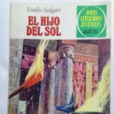Tebeos: JOYAS LITERARIAS JUVENILES, EL HIJO DEL SOL, Nº 83, EDICIONES BRUGUERA, 1979. Lote 221564735