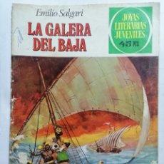 Tebeos: JOYAS LITERARIAS JUVENILES, LA GALERA DEL BAJA, Nº 222, EDICIONES BRUGUERA, 1980. Lote 221564963