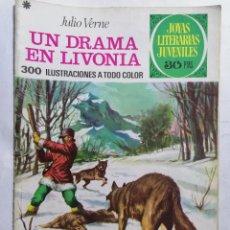 Tebeos: JOYAS LITERARIAS JUVENILES, UN DRAMA EN LIVONIA, Nº 161, EDICIONES BRUGUERA, 1976. Lote 221565211