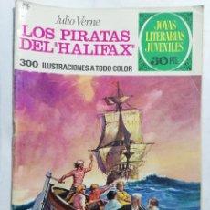 Tebeos: JOYAS LITERARIAS JUVENILES, LOS PIRATAS DEL HALIFAX, Nº 133, EDICIONES BRUGUERA, 1975. Lote 221565278