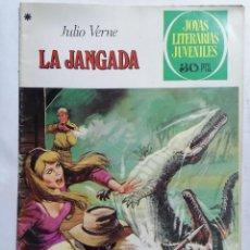 Tebeos: JOYAS LITERARIAS JUVENILES, LA JANGADA, Nº 195, EDICIONES BRUGUERA, 1978. Lote 221566402