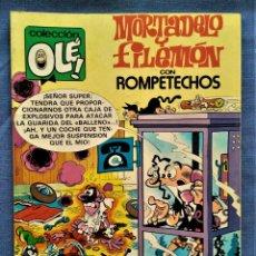 Tebeos: MORTADELO Y FILEMÓN + ROMPETECHOS - COLECCION OLÉ M.237 - IBAÑEZ - EDICIONES B - 1ª REIMPRESIÓN 1992. Lote 221569681