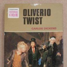 Tebeos: OLIVERIO TWIST. CARLOS DICKENS. COLECCION HISTORIAS COLOR Nº7. EDITORIAL BRUGERA. 1975.. Lote 221581697