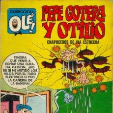 Tebeos: COLECCIÓN OLÉ - BRUGUERA / NÚMERO 22 (PEPE GOTERA Y OTILIO) 1ª EDICIÓN. Lote 221582358
