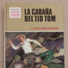 Tebeos: LA CABAÑA DEL TIO TOM. H. BEECHER STOWE. COLECCION HISTORIAS COLOR Nº1. EDITORIAL BRUGERA. 1975.. Lote 221582432