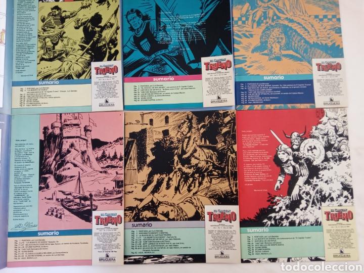 Tebeos: Lote de doce cómics de aventuras recopilación Capitán Trueno v otras - Foto 4 - 221582703