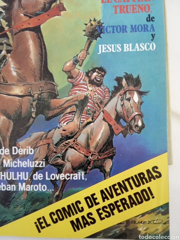 Tebeos: Lote de doce cómics de aventuras recopilación Capitán Trueno v otras - Foto 5 - 221582703
