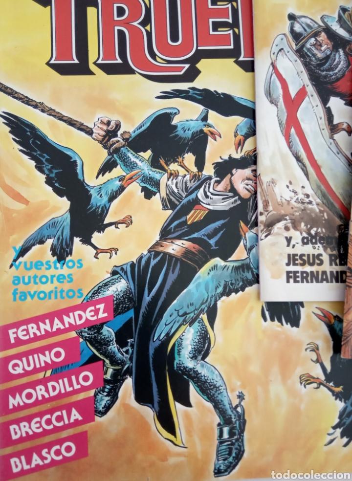 Tebeos: Lote de doce cómics de aventuras recopilación Capitán Trueno v otras - Foto 6 - 221582703