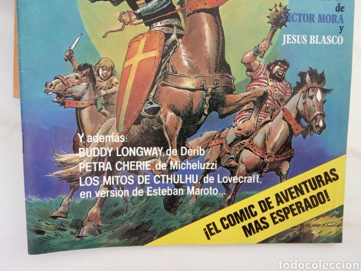 Tebeos: Lote de doce cómics de aventuras recopilación Capitán Trueno v otras - Foto 7 - 221582703