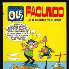 Tebeos: COLECCIÓN OLÉ - BRUGUERA / NÚMERO 16 (FACUNDO) 1ª EDICIÓN. Lote 221584856