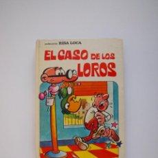 Tebeos: EL CASO DE LOS LOROS - COLECCIÓN RISA LOCA Nº 3 - BRUGUERA 1ª ED. 1973. Lote 221603761